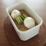 野田琺瑯の容器でぬか漬けを!簡単なのは冷蔵庫で作るから