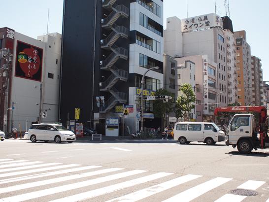 菊屋橋交差点