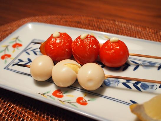 トマト・ウズラの卵