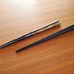 木箸の素材感