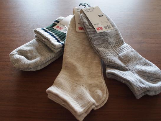 ユニクロ靴下