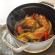 色とりどり 鶏と野菜のココット焼き