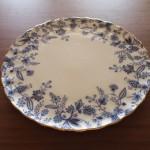 中古のノリタケ食器を頂きまして。ケーキ皿?タルトプレートって何ぞ?