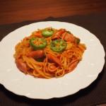 ケチャップで何とかしたナポリタンとかいうスパゲッティ料理