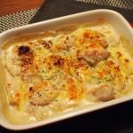 鶏肉とジャガイモのチーズグラタン