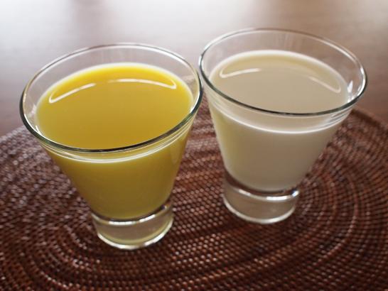 牛乳と比較
