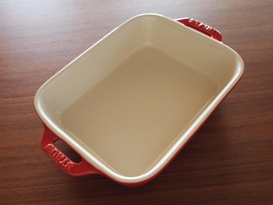 レクタンギュラーディッシュ(耐熱皿)/STAUB(ストウブ)