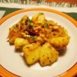 アルーマサラ(ジャガイモのスパイス炒め)