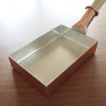 小さな玉子焼鍋/中村銅器製作所