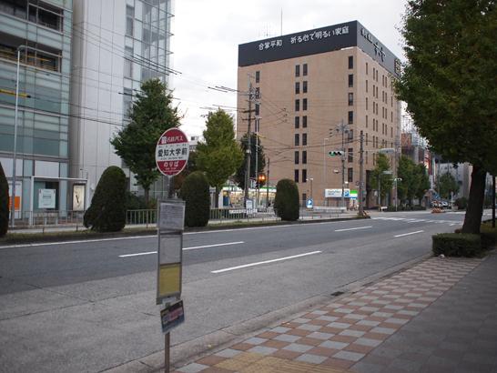 バス発着所「ささしまライブ」