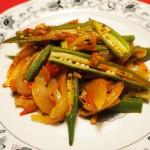 ビンディーマサラ(オクラのスパイス炒め)