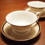 コーヌコピア ティーカップ&ソーサー(ピオニー)/WEDGWOOD(ウェッジウッド)