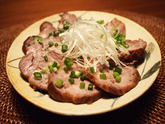 自作チャーシュー(煮豚)