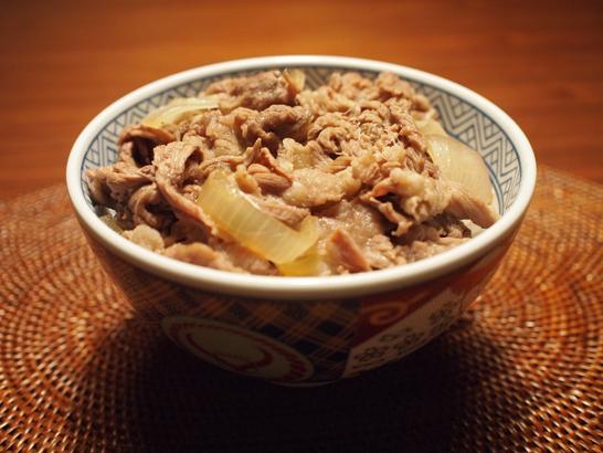 牛丼(吉野家オリジナル丼で)
