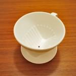 メリタの陶器ドリッパーを頂いたので仕様の違いなど書いてみる