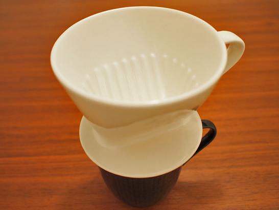 陶器製コーヒーフィルター(ドリッパー)1×2/メリタ