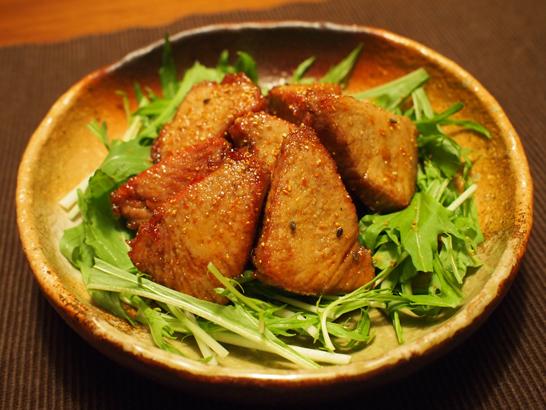 カツオの甘辛揚げ煮