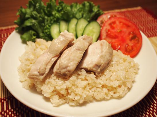 ジンジャーチキンライス(Cook Do おかずごはん アジアン鶏飯用を利用)