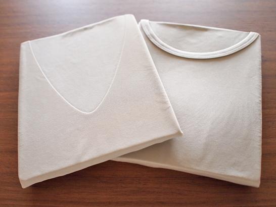 エアリズム シームレスVネック&クルーネック半袖Tシャツ/UNIQLO(ユニクロ)