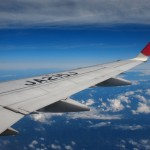 熊野古道への飛行機