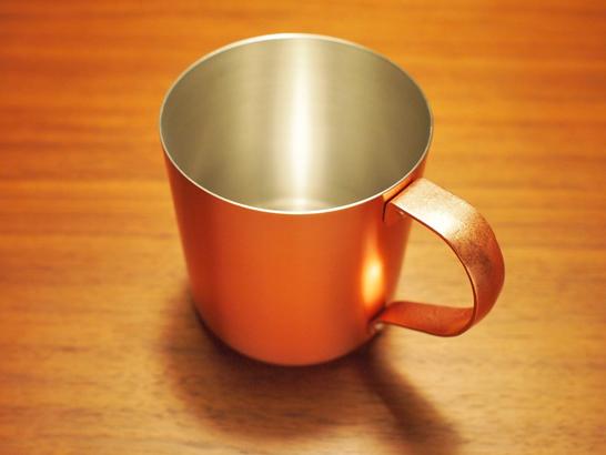 HM銅製マグカップ サテン/橋本金属(ハシモト金属)