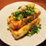 厚揚げを豆腐料理として手作りしてみる!おつまみに最適な簡単レシピ