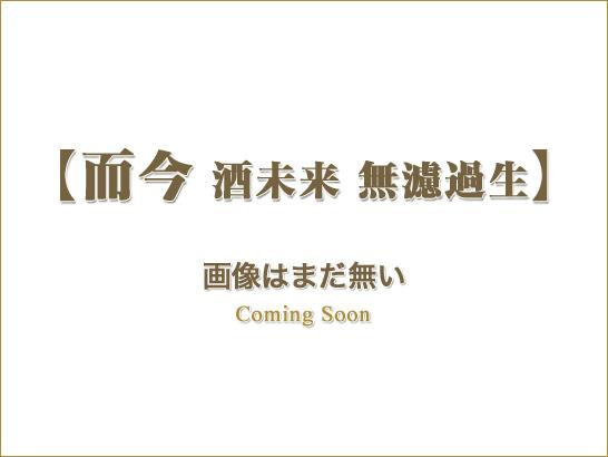 而今(じこん) 純米吟醸 酒未来 無濾過生/木屋正酒造(三重)