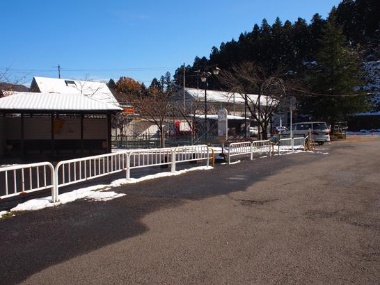 本厚木駅方面へのバス停