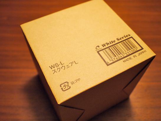 ホワイトシリーズ スクウェア シール蓋付 WS-L/野田琺瑯