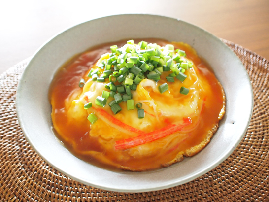 レシピ 天津飯