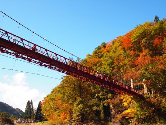 神の岩橋/抱返り渓谷