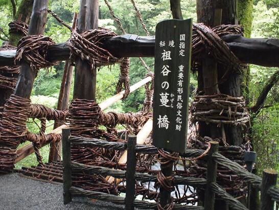 祖谷のかずら橋/徳島